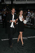 Alice Temperley and Lars von Bennigsen, Premiere of The Bourne Ultimatum. Odeon, Leicester Sq. London. 15 August 2007.   -DO NOT ARCHIVE-© Copyright Photograph by Dafydd Jones. 248 Clapham Rd. London SW9 0PZ. Tel 0207 820 0771. www.dafjones.com.