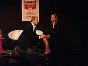 Joss Ings-Chambers AND Jagdeep Bhangoe, Dazed and Abused by Kinvara Balfour, the Canal Cafe theatre. London W2. 4 October 2004. ONE TIME USE ONLY - DO NOT ARCHIVE  © Copyright Photograph by Dafydd Jones 66 Stockwell Park Rd. London SW9 0DA Tel 020 7733 0108 www.dafjones.com