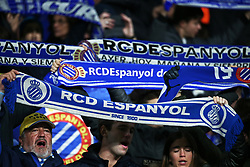 January 4, 2019 - Barcelona, Spain - RCD Espanyol supporters during the match between RCD Espanyol and CD Leganes, corresponding to the week 18 of the Liga Santander, played at the RCDE Stadium on 04th January 2019 in Barcelona, Spain. (Credit Image: © Joan Valls/NurPhoto via ZUMA Press)