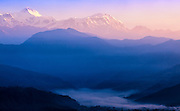 First light in the Annapurna region of Nepal.