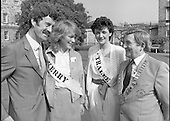 1984 -  Rose of Tralee visits Leinster House