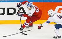 Jaromir Jagr / Antonin Manavian - 07.05.2015 - Republique Tcheque / France - Championnat du Monde de Hockey sur Glace <br />Photo : Xavier Laine / Icon Sport