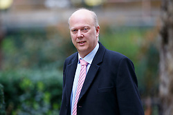 © Licensed to London News Pictures. 14/03/2017. London, UK. Transport Secretary CHRIS GRAYLING attends a cabinet meeting in Downing Street, London on Tuesday, 14 March 2017. Photo credit: Tolga Akmen/LNP