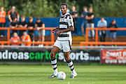 Forest Green Rovers Ethan Pinnock (16) runs forward during the Vanarama National League match between Braintree Town and Forest Green Rovers at the Amlin Stadium, Braintree, United Kingdom on 24 September 2016. Photo by Shane Healey.