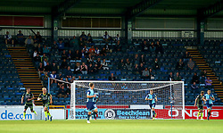 Bristol Rovers fans at Wycombe Wanderers - Mandatory by-line: Robbie Stephenson/JMP - 29/08/2017 - FOOTBALL - Adam's Park - High Wycombe, England - Wycombe Wanderers v Bristol Rovers - Checkatrade Trophy