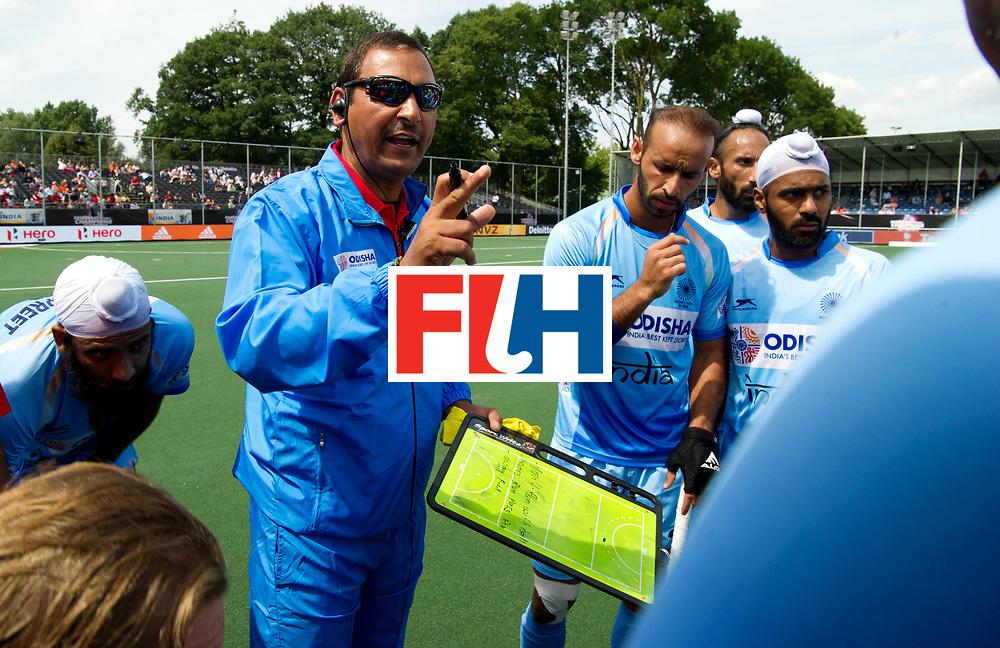 BREDA - Rabobank Hockey Champions Trophy<br /> India - Pakistan<br /> Photo: Indian head coach Harendra Singh.<br /> COPYRIGHT WORLDSPORTPICS FRANK UIJLENBROEK