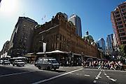 Sydney Centre. Queen Victoria Building.