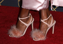 Model Jasmine Tookes, shoes detail, at The 2017 MAXIM Hot 100 Party, produced by Karma International, held at the Hollywood Palladium in celebration of MAXIM's Hot 100 List on June 24, 2017 in Los Angeles, CA, USA (Photo by JC Olivera) *** Please Use Credit from Credit Field ***