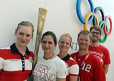 20120725 Olympics London 2012, Bueskydning pressemøde