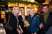 CAROLINE PARRISH; THE DUCHESS OF CORNWALL, Duchess Of Cornwall Turns On The Christmas Lights At Burlington Arcade. Piccadilly. LONDON, 19 November 2009