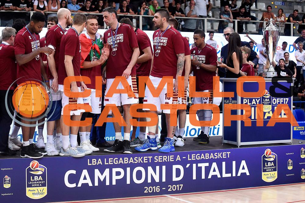 Umana Reyer Venezia<br /> Dolomiti Energia Trento - Umana Reyer Venezia<br /> Lega Basket Serie A 2016-2017<br /> Playoff FINALE Gara 6<br /> Avellino 20/06/2017<br /> Foto Ciamillo-Castoria