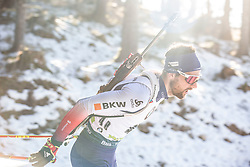 Mario Dolder (SUI) during the Men 20 km Individual Competition at day 1 of IBU Biathlon World Cup 2019/20 Pokljuka, on January 23, 2020 in Rudno polje, Pokljuka, Pokljuka, Slovenia. Photo by Peter Podobnik / Sportida