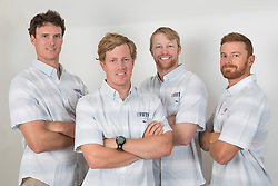 2nd July 2017. GKSS Match Cup Sweden, Marstrand, Sweden. NEVIN SNOW (Second Left) and his team, 13 FIFTY RACING.