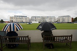 Play is delayed  due to rain - Mandatory byline: Dougie Allward/JMP - 07966386802 - 22/09/2015 - Cricket - County Ground -Bristol,England - Gloucestershire CCC v Glamorgan CCC - LV=County Championship