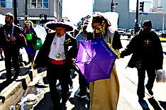Mardi Gras Wedding
