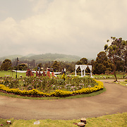 Beautiful house admist the hills in Ooty for a christian wedding.
