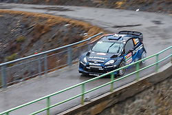 17.01.2014, Sisteron, FRA, FIA, WRC, Monte Carlo, 2. Tag, im Bild HIRVONEN Mikko / LEHTINEN Jarmo ( M Sport Ltd (GBR) / Ford Fiesta RS ) during day two of FIA Rallye Monte Carlo held near Monte Carlo, France on 2014/01/17. EXPA Pictures © 2014, PhotoCredit: EXPA/ Eibner-Pressefoto/ Neis<br /> <br /> *****ATTENTION - OUT of GER*****