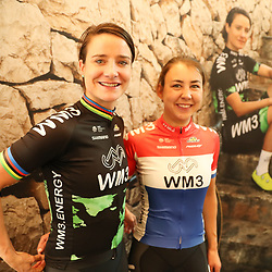 07-02-2017: Wielrennen: Teampresentatie WM3: Eindhoven  <br /> EINDHOVEN (NED) cycling<br /> At the European Head Quater of Shimano the new WM3 Team with leading lady Marianne Vos was presented. Marianne Vos and Dutch champion road Anouska Koster