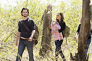 "The Originals -- ""Fire With Fire"" -- Image Number: OR221b_0073.jpg -- Pictured (L-R): Nathan Parsons as Jackson and Phoebe Tonkin as Hayley -- Photo: Jace Downs/The CW -- © 2015 The CW Network, LLC. All rights reserved."