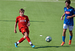 NAPLES, ITALY - Tuesday, September 17, 2019: Liverpool's Leighton Clarkson during the UEFA Youth League Group E match between SSC Napoli and Liverpool FC at Stadio Comunale di Frattamaggiore. (Pic by David Rawcliffe/Propaganda)