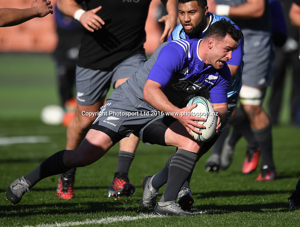 Ryan Crotty during an All Blacks training session in Hamilton ahead of the The Rugby Championship test match against Argentina. Thursday 8 September 2016. © Copyright Photo: Andrew Cornaga / www.Photosport.nz