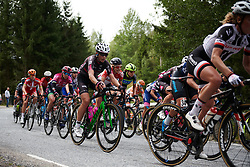 Eugenia Bujak (POL) on the categorised climb at Ladies Tour of Norway 2018 Stage 3. A 154 km road race from Svinesund to Halden, Norway on August 19, 2018. Photo by Sean Robinson/velofocus.com