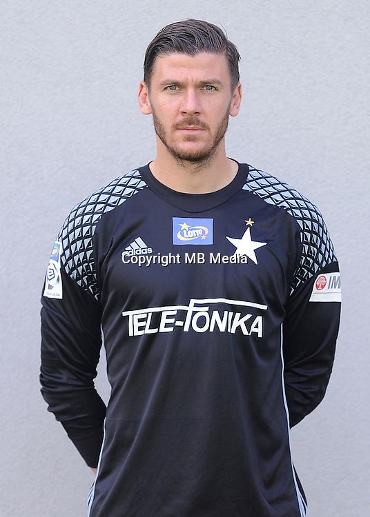 2016.08.03 Myslenice <br /> Pilka nozna Lotto Ekstraklasa sezon 2016/2017<br /> Sesja zdjeciowa Wisla Krakow <br /> N/z Lukasz Zaluska<br /> Foto Rafal Rusek / PressFocus<br /> <br /> 2016.08.03 Myslenice <br /> Football Polish Lotto Ekstraklasa season 2016/2017<br /> Sesja zdjeciowa Wisla Krakow <br /> Lukasz Zaluska<br /> Credit: Rafal Rusek / PressFocus