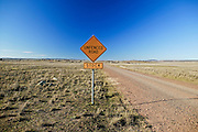 Unfenced Road, near Junee, NSW, Australia