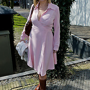 NLD/Amsterdam/20100414 - Uitreiking Mama van het Jaar 2010, zwangere Gallyon van Vessem