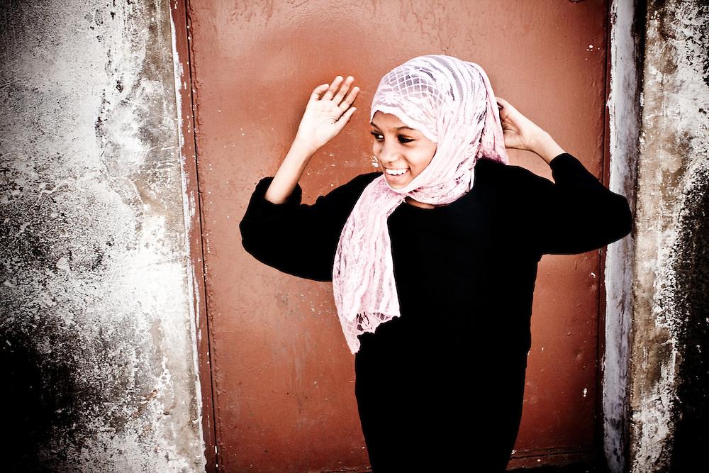 Girl in Stonetown, Zanzibar