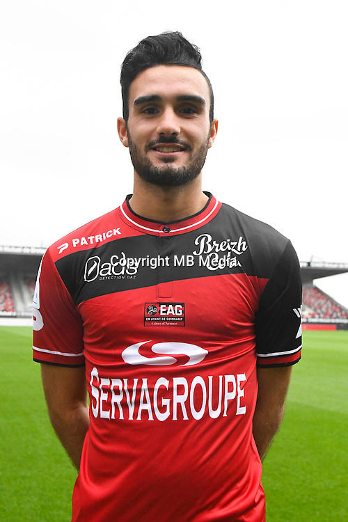 Sulliban Martinet of Guingamp during the Photo shooting of En Avant Guingamp on september 27th 2016<br /> Photo : Philippe Le Brech / Icon Sport