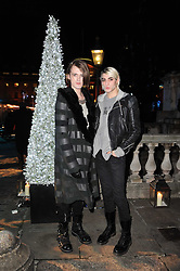 Left to right, designer GARETH PUGH and HARRISON McCALL at a Winter Party given by Tiffany & Co. Europe to launch the 10th season of Somerset House's Ice Skating Rink at Somerset House, The  Strand, London on 16th November 2009.