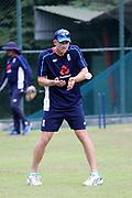 Joe Denly during the England training session ahead of the 4th ODI, at Pallekele International Cricket Stadium, Pallekele, Sri Lanka on 19 October 2018.