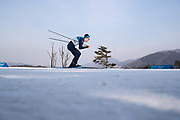 PYEONGCHANG-GUN, SOUTH KOREA - FEBRUARY 16: Andrew Musgrave of Great Britain during the mens Cross Country 15k free technique at Alpensia Cross-Country Centre on February 16, 2018 in Pyeongchang-gun, South Korea. Photo by Nils Petter Nilsson/Ombrello               ***BETALBILD***