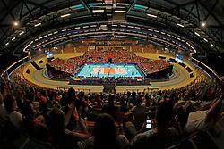 20180531 NED: Volleyball Nations League Netherlands - Brazil, Apeldoorn<br />Overview Omnisport Apeldoorn, Netherlands <br />©2018-FotoHoogendoorn.nl