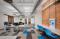 Interior design image of MainSpring Offices in Frederick Maryland by Jeffrey Sauers of Commercial Photographics, Architectural Photo Artistry in Washington DC, Virginia to Florida and PA to New England