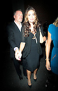 15.SEPT.2010. LONDON<br /> <br /> EX- BOXING CHAMPION STEVE COLLINS ARRIVING AT CHINA WHITES NIGHT CLUB HOLDING HANDS WITH THE EX GIRLFRIEND OF BOXING LEGEND JOE CALZAGHE JO-EMMA LARVIN FOR THE AFTER PARTY OF THE KID FILM PREMIER.<br /> <br /> BYLINE: EDBIMAGEARCHIVE.COM<br /> <br /> *THIS IMAGE IS STRICTLY FOR UK NEWSPAPERS AND MAGAZINES ONLY*<br /> *FOR WORLD WIDE SALES AND WEB USE PLEASE CONTACT EDBIMAGEARCHIVE - 0208 954 5968*