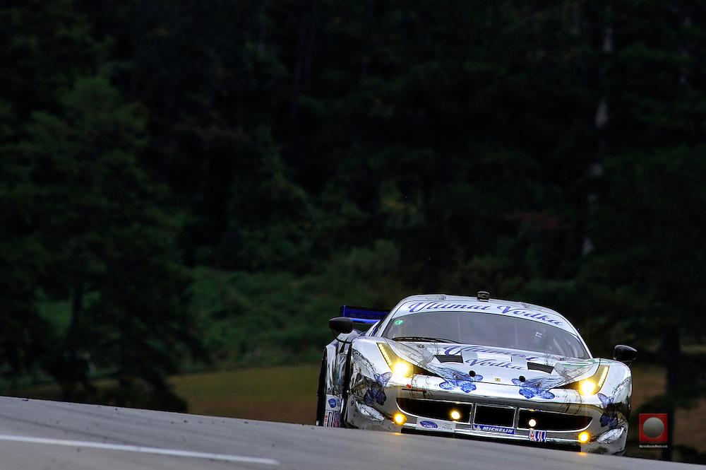 17-20 October, 2012, Braselton, Georgia USA.Ed Brown, Guy Cosmo, Anthony Lazzaro (02) Extreme Speed Motorsports Ferrari F458 Italia .(c)2012, Scott R LePage .LAT Photo USA
