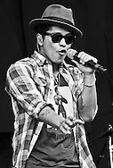 Bruno Mars / V Festival 2011, Hylands Park, Chelmsford, Essex, Britain - August 2011.