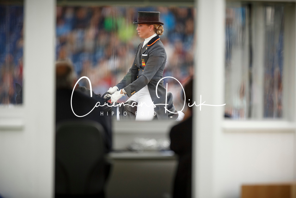 Barbancon Mestre Morgan, (ESP), Painted Black<br /> Grand Prix Special<br /> European Championships - Aachen 2015<br /> &copy; Hippo Foto - Dirk Caremans<br /> 15/08/15
