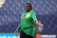16 October 2014: Cathy Bellune (MTQ). The Jamaica Women's National Team played the Martinique Women's National Team at Sporting Park in Kansas City, Kansas in a 2014 CONCACAF Women's Championship Group B game, which serves as a qualifying tournament for the 2015 FIFA Women's World Cup in Canada. Jamaica won the game 6-0.