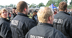 06.08.2010, Wacken Open Air 2010, Wacken, GER, 2.Tag beim 21.Heavy Metal Festival Polizei und Ordnungskraefte haben alles im Griff, EXPA Pictures © 2010, PhotoCredit: EXPA/ nph/  Kohring+++++ ATTENTION - OUT OF GER +++++ / SPORTIDA PHOTO AGENCY