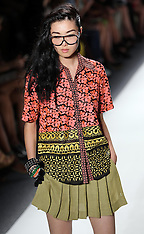 Tracy reese show-New York Fashion Week S/S 2013