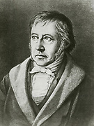 'Georg Wilhelm Friedrich Hegel (1770-1831) German philosopher, one of the creators of German Idealism.'