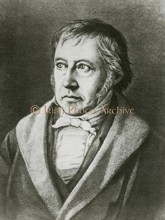 'Georg Wilhelm Friedrich Hegel (1770-1831) German philosopher, one of the creators of German Idealism.'