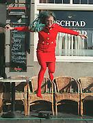 The Swiss video artist Pipilotti Rist in the Dutch city Sittard NOV. 8, 1997. Photo: Erik Luntang.