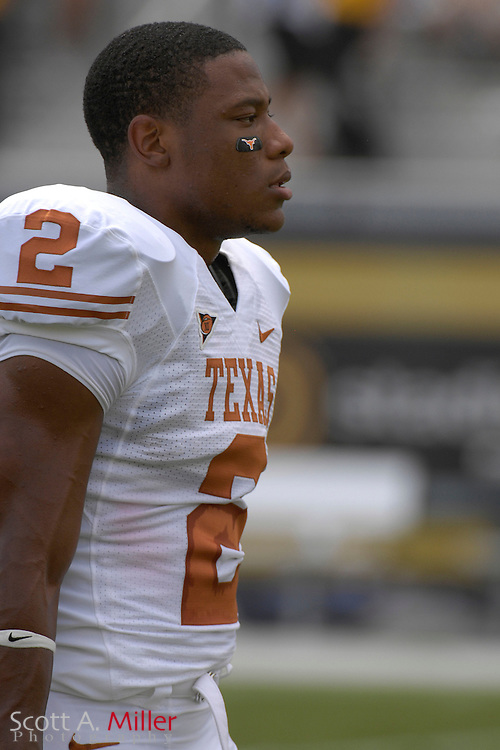 Sept. 15, 2007; Orlando, FL, USA; Texas Longhorns running back (2) Vondrell McGree during his team's game against the Central Florida Knights during the first half at Bright House Stadium. Texas won the game 35-32. ..©2007 Scott A. Miller