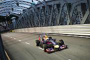 September 18-21, 2014 : Singapore Formula One Grand Prix - Daniel Ricciardo (AUS), Red Bull-Renault