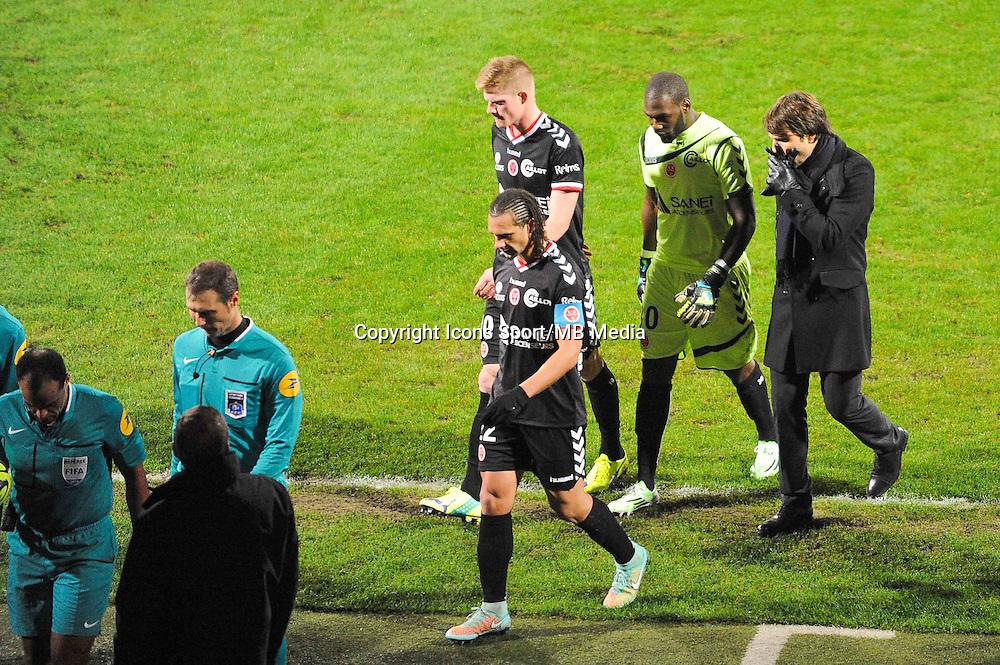 Johny PLACIDE / Jean Luc VASSEUR  - 04.12.2014 - Lyon / Reims - 16eme journee de Ligue 1  <br /> Photo : Jean Paul Thomas / Icon Sport
