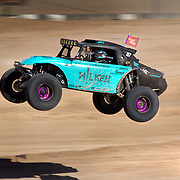 Blake Wilkey flying in his supercharged Bug